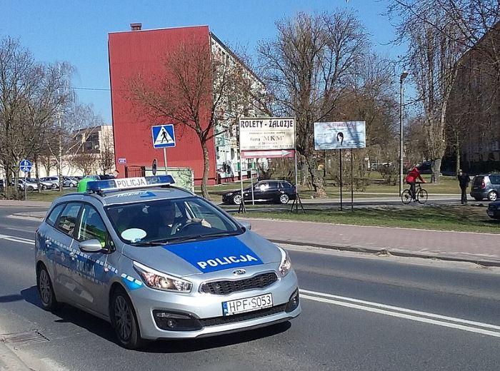 Policja Bełchatów: Wypadek na K74 w miejscowości Grudna
